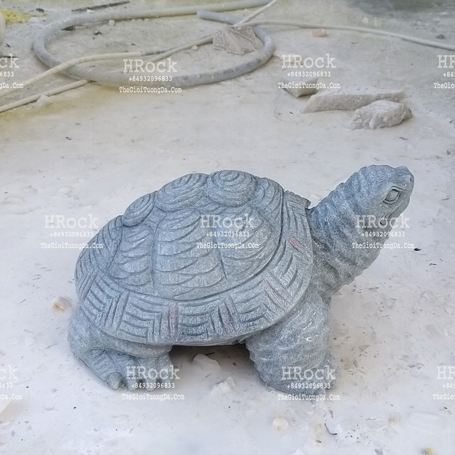 The Gray Marble Turtle Garden